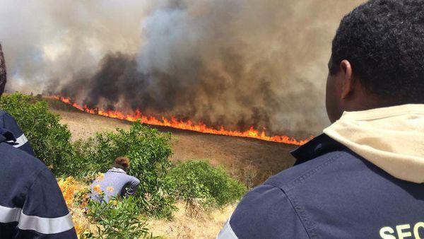 En octobre 2017, un important incendie s'était déclaré sur la commune de Païta.