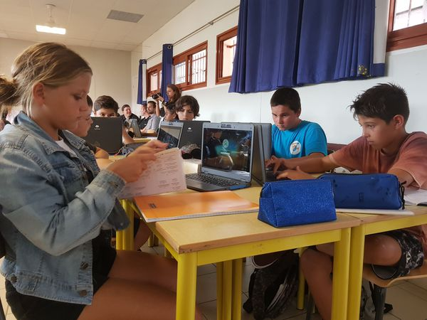 Collège de Tuband cartable numérique