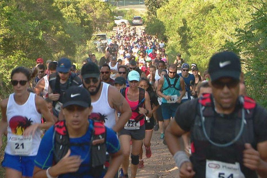 Le Sunset Trail bat son record avec 1300 partants - Nouvelle-Calédonie la 1ère