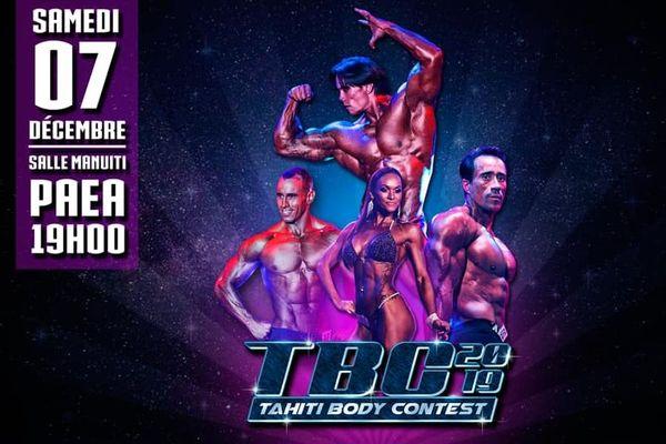Tahiti Body Contest le 7 décembre