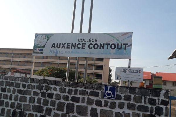 Le collège Auxence Contout