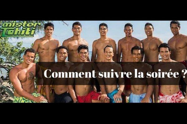 Comment suivre la soirée Mister Tahiti 2016 ?
