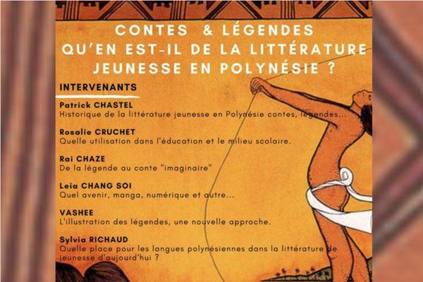 Soirée littéraire : conte ou légende, quels enjeux pour la littérature jeunesse en Polynésie ?