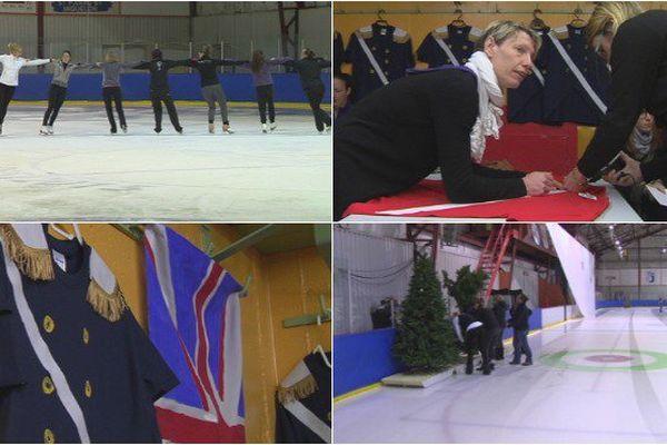 Entraînements, costumes, décors : découvrez les coulisses de la préparation du gala de patinage de Saint-Pierre et Miquelon