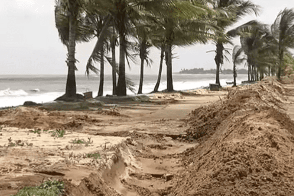 Plage de l'Anse à Kourou