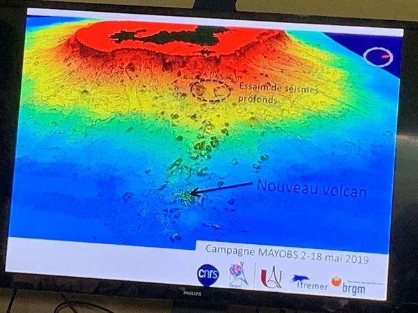 Un nouveau volcan a été découvert à l'Est de Mayotte.