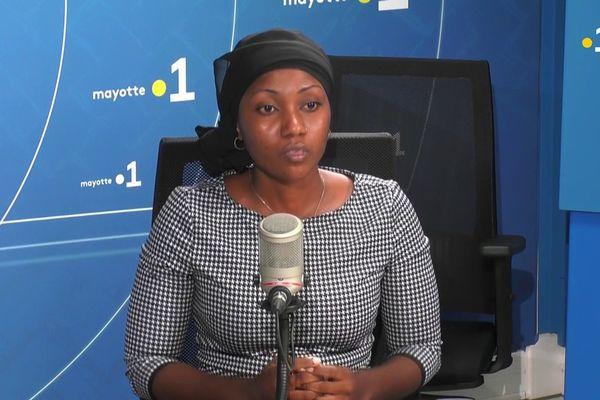 Soibrina Madi est candidate aux côtés de Baharoussoifa Chaharani pour le canton de Bandraboua.