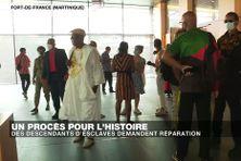 Un procès pour l'histoire, des descendants d'esclaves demandent réparation devant la Cour d'Appel de Fort-de-France en Martinique