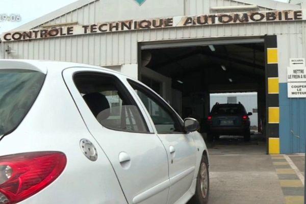 Contrôle technique, voiture
