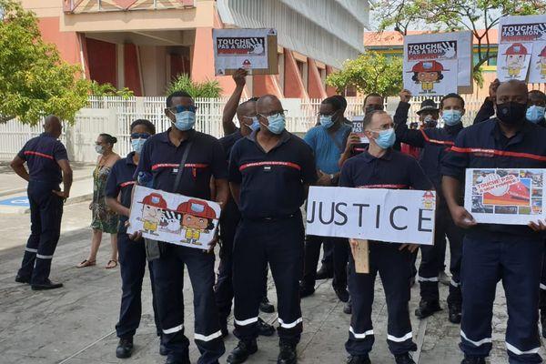 Manifestation de pompiers