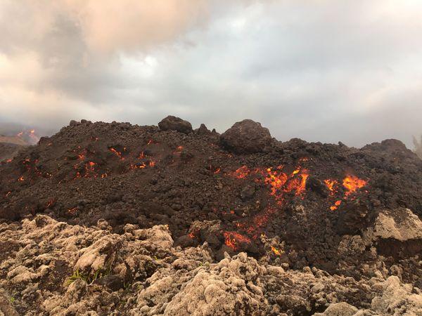 éruption octobre 2019