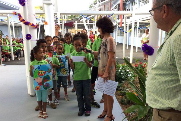 Inauguration de l'école Jack-Mainguet, 6 juin 2018