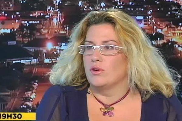 Sonia Backès invitée du JT de NC 1ère