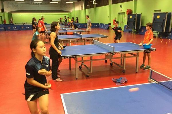 Xe Mini Jeux du Pacifique : la sélection de tennis de table