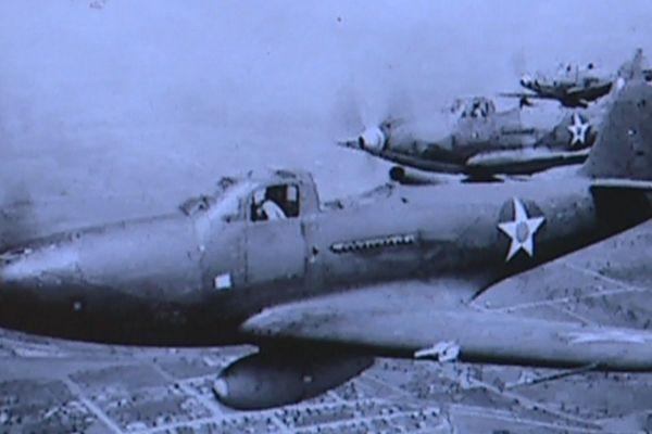 Avion de chasse US de la Seconde Guerre Mondiale
