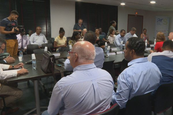 Réunion 1er comité de suivi Coronavirus