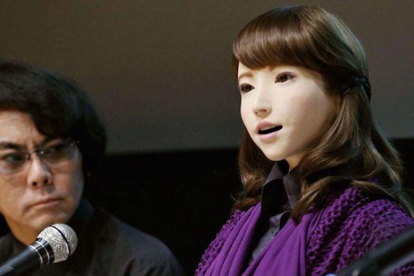 erica robot japon