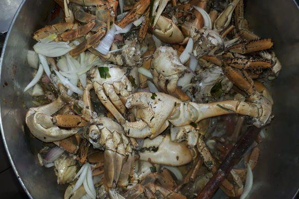 Matou / matété de crabes à pâque