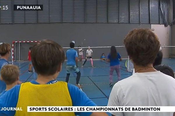 Sports Scolaires : Les championnats de Badminton
