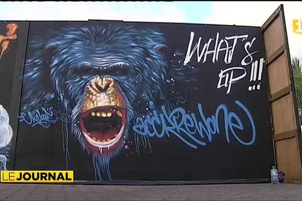 Le festival de graffitis Ono' u bat son plein