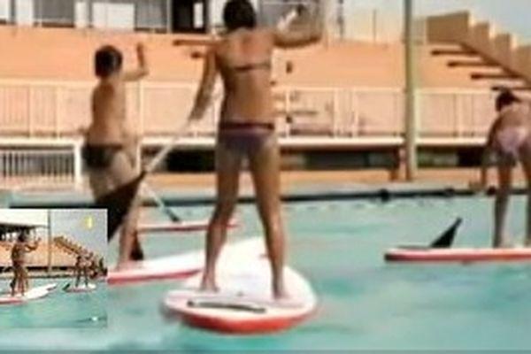 Initiation paddle