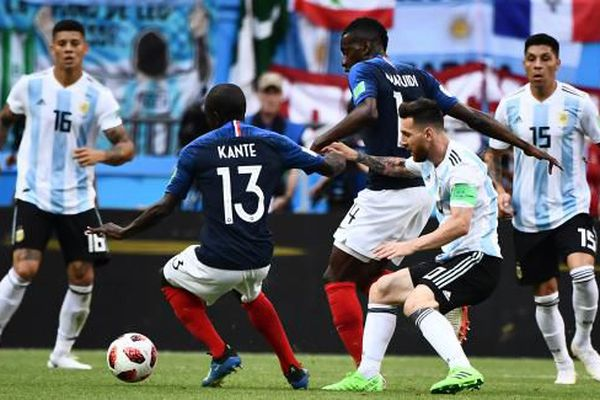 France / Argentine coupe du monde 2018