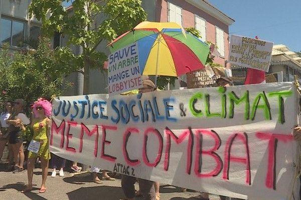 Marche pour le climat marche du siècle Saint-Denis 160319