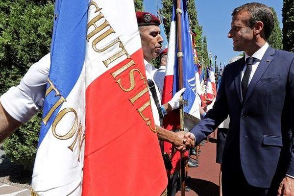 Cérémonie hommage soldats à Saint-Raphaël 15 août 2019