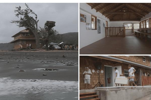 Maison du surf / Papenoo
