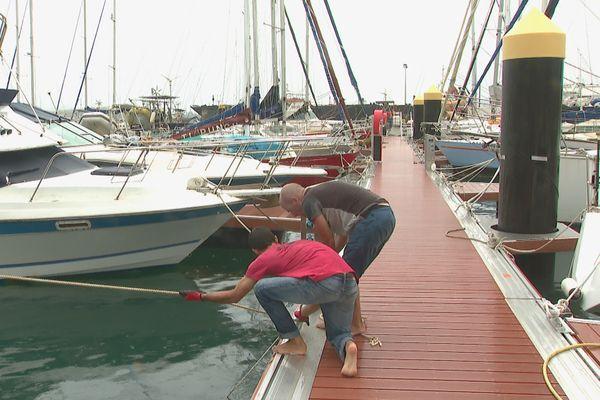 sécurisation bateaux port moselle nouméa