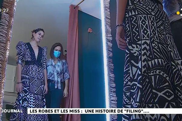 """Les robes et les Miss : une histoire de """"filing""""..."""