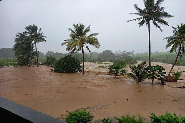 Inondation à l'île Maurice 16 avril 2021