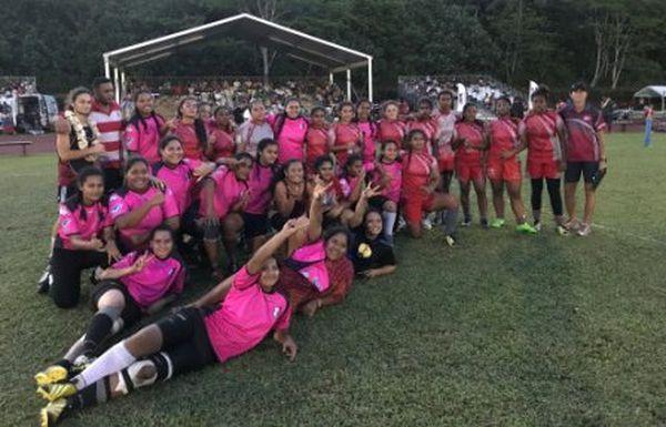 Les wallisiennes remportent le tournoi international de rugby à 7 des U17 2017