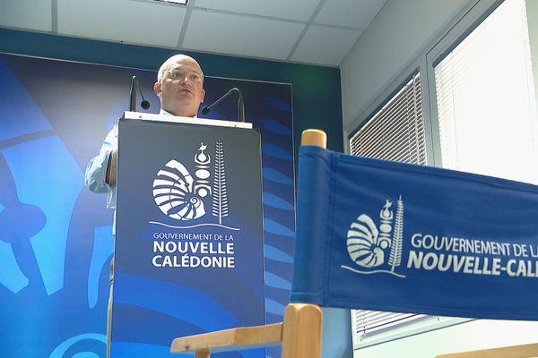 Yoann Lecourieux présentant le projet de budget 2020 du gouvernement, 9 décembre 2019