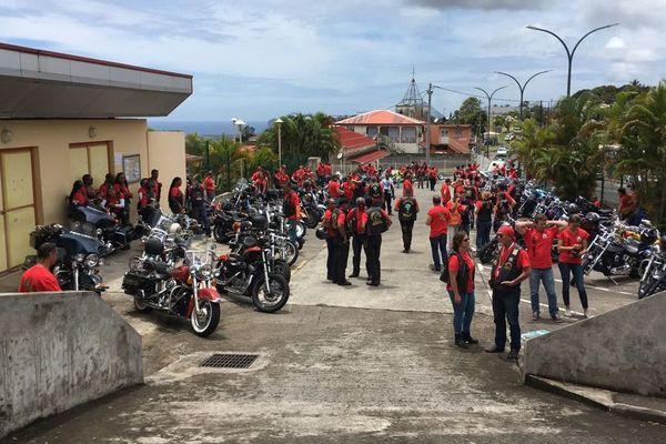 Rassemblement bikers