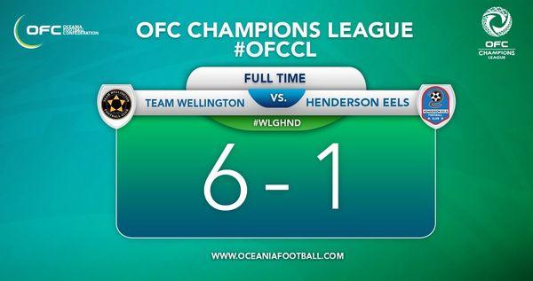 Résultat Team Wellington / Henderson Eels