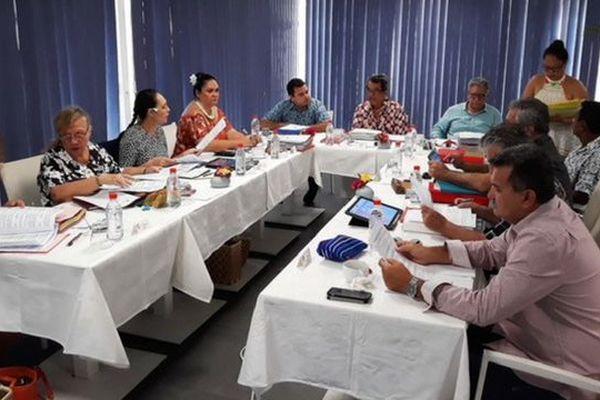 Conseil des ministres à Moorea