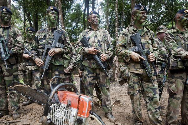 militaires rima guyane