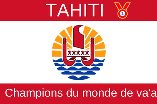 tahiti champions du monde de va'a
