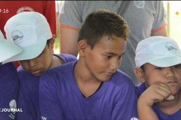 Les scolaires de Bora Bora sensibilisés à la protection des tortues