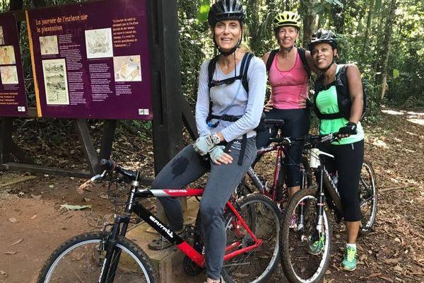 Destnation Martinique Sophie Gayda, Anne Désiré, Florence Fandi