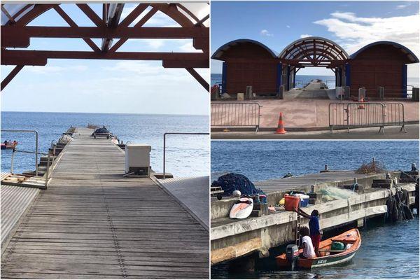 Bellefontaine / quai et poissons