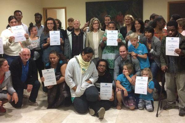 Lauréats projets handicap Nouméa 24 juillet 2017