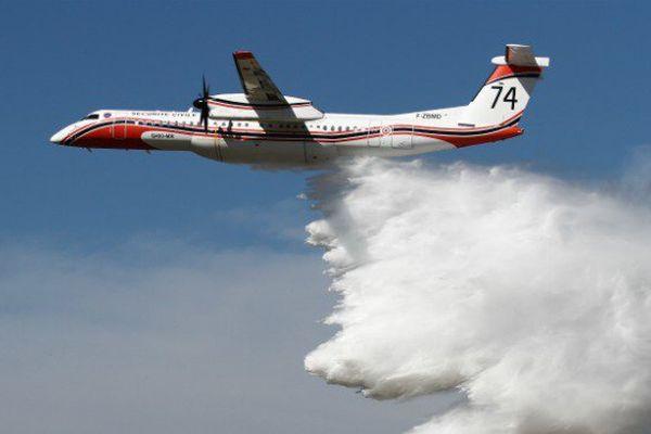 Incendies : l'arrivée du Dash 8 à La Réunion est imminente