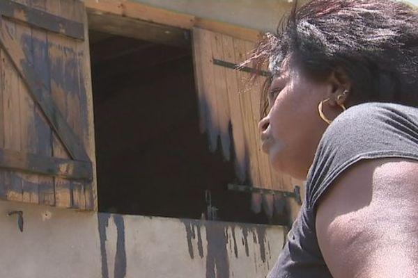 Maison brûlée Port-Louis