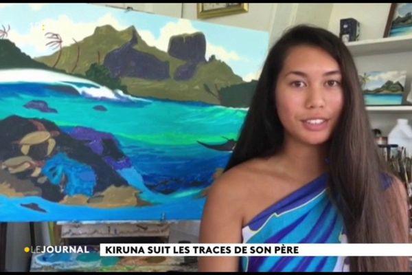 Kiruna suit les traces de son père