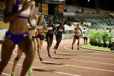 Le meeting international d'athlétisme de La Réunion, samedi 19 décembre.