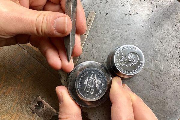 Matrice 100 Francs Pacifique. Monnaie de Paris.