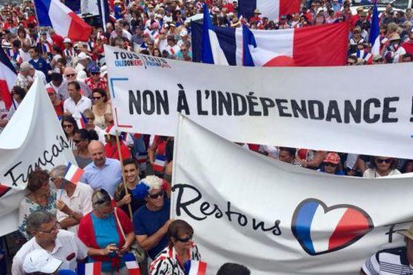 Marche contre l'indépendance