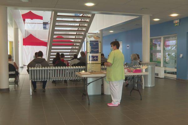 Derniers jours de campagne de vaccination de la première dose du vaccin contre la Covid-19 à Saint-Pierre et Miquelon